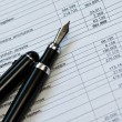 Financial Statements - Stock Photo
