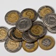 Polish coins, money — Stock Photo