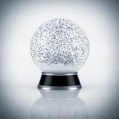 Snow globe on white background — Stock Photo