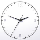 Classic analog clock — Stockfoto