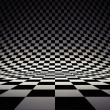 Black and white checker — 图库照片 #18896097