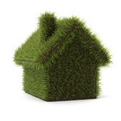 Casa verde cárter — Foto de Stock