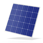 Solar battery panel — Stock Photo