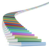 Book stair — Stock Photo