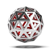 Abstract 3d sphere — Stock Photo
