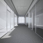 Office corridor — Stock Photo