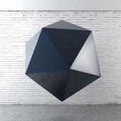 Polygon structure in interior — Stock Photo
