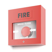 Fire alarm — Foto Stock