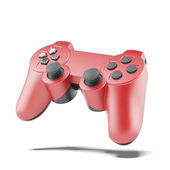 Rote Gamecontroller — Stockfoto