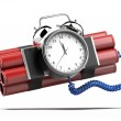 Bomb with clock timer — Stock Photo #51755347