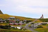 City Vik. Iceland — Stock Photo