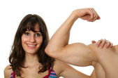 Flexed Biceps — Stockfoto