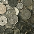 Royalty-Free Stock Photo: Silver Coins Texture