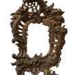 Antique Baroque Brass Frame — Stock Photo