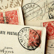Old Russian Postcards — Stock fotografie