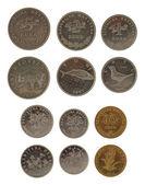 Kroatische münzen isoliert auf weiss — Stockfoto