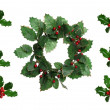 Christmas Wreath — Stock Photo #13395097