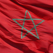 Moroccan Flag — Stock Photo