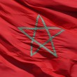 Moroccan Flag - Stockfoto