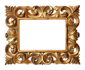 Wooden Baroque Style Frame — Stock Photo
