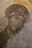 Byzantine Mosaic of the Virgin — Stock Photo