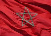 Bandiera marocchina — Foto Stock