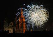New Year Fireworks — Stock Photo