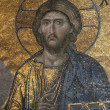 Byzantine Mosaic of the Jesus Christ - Foto de Stock  