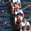 Rowing Team - Stock Photo