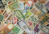 Exotic Banknotes — Stock Photo