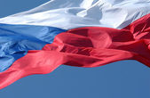 Czech Flag — Stock Photo