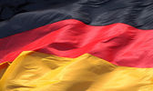 German Flag — Stock Photo