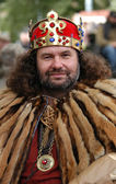 Medieval King — Stock Photo