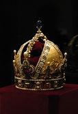 Golden Crown of Emperor Rudolf II — Stock Photo