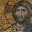 Stock Photo: Byzantine Mosaic of the Jesus Christ