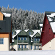 Stock Photo: Ski Resort Hotels