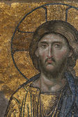 Byzantine Mosaic of the Jesus Christ — Foto de Stock