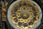 Astronomiska klockan i prag — Stockfoto