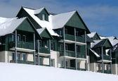 Ski Resort Hotel — Stock Photo