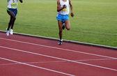 Running Athletes — Stock Photo