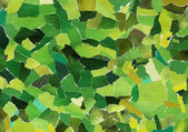 Green texture of torn paper — Stock Photo