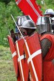Cavaleiros — Foto Stock
