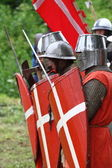 рыцари — Стоковое фото