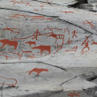 Stock Photo: Petroglyphs in Alta, Norway