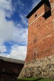 Zamek w finlandii — Zdjęcie stockowe