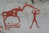 Petroglify w alta, norwegia — Zdjęcie stockowe