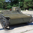 T-38 Russian light tank, WW2 — Stock Photo