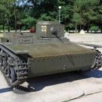 T-38 Russian light tank, WW2 — Stock Photo