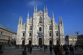 Duomo, milan — Stok fotoğraf