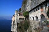 Kilise st. catherine, laveno — Stok fotoğraf
